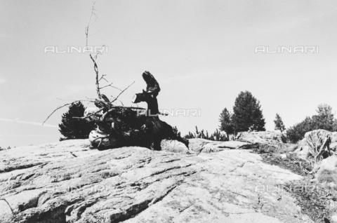 PFA-F-001478-0000 - Roccia sul Muottas, Engadina, Canton dei Grigioni, Svizzera - Data dello scatto: 12/1989 - Archivi Alinari, Firenze
