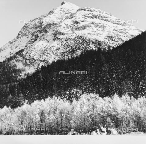 PFA-F-001500-0000 - Paesaggio montano, Engadina, Canton dei Grigioni, Svizzera - Data dello scatto: 01/1993 - Archivi Alinari, Firenze