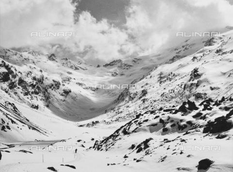 PFA-F-001535-0000 - La Val di Fex innevata, Engadina, Canton dei Grigioni, Svizzera - Data dello scatto: 04/1990 - Archivi Alinari, Firenze