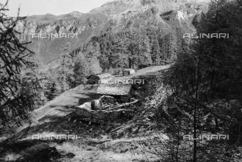 PFA-F-001583-0000 - Paesaggio montano, Engadina, Canton dei Grigioni, Svizzera - Data dello scatto: 08/1991 - Archivi Alinari, Firenze
