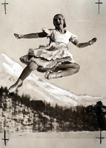 PPA-F-000022-0000 - The Austrian figure skater Melita Brunner
