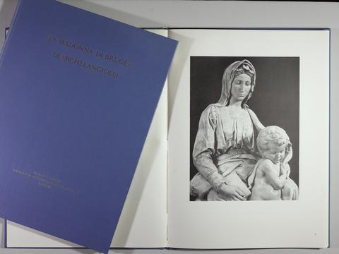 VOL0043 - LA MADONNA DI BRUGES DI MICHELANGELO