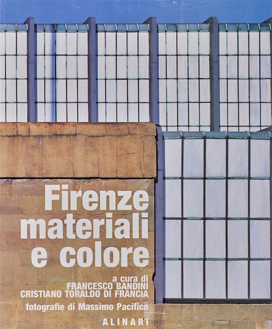 VOL0052 - Firenze materiali e colore
