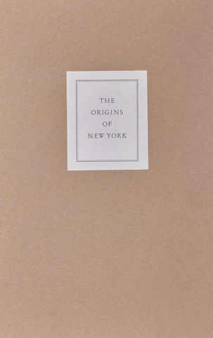 VOL0410 - The origins of New York