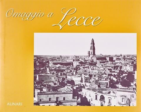 VOL0563 - Omaggio a Lecce