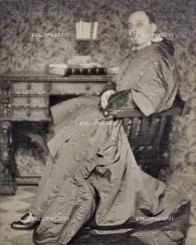 PTA-F-000395-0000 - Ritratto di un attore - Date of photography: 1930-1939 - Fratelli Alinari Museum Collections-Pasta Archive, Florence