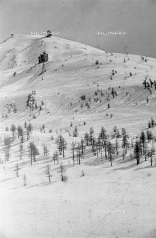 PTA-S-001072-1037 - View of the Colle del Sestriere - Date of photography: 1940 ca. - Fratelli Alinari Museum Collections-Pasta Archive, Florence