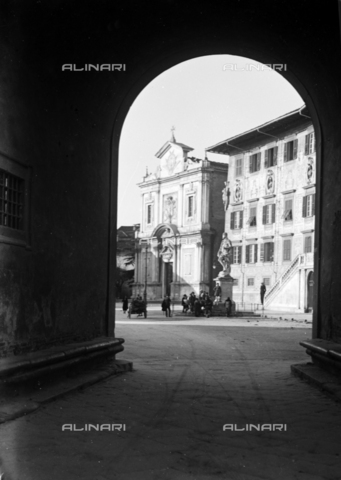 PTA-S-001302-0006 - Cavalieri square, Pisa - Date of photography: 1930-1940 - Fratelli Alinari Museum Collections-Pasta Archive, Florence