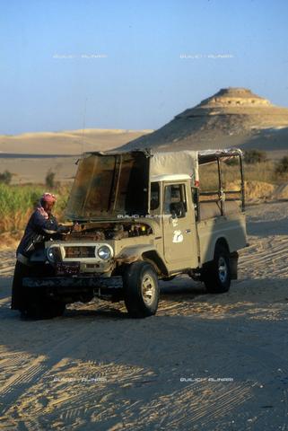 QFA-S-DIA087-00EG - Deserto a sud dell'Oasi di Siwa. - Data dello scatto: 2002 - Folco Quilici © Fratelli Alinari