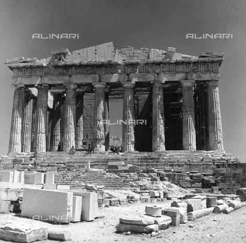 RAD-A-000012-0001 - Il Partenone, Acropoli, Atene - Data dello scatto: 1962 - Archivi Alinari, Firenze