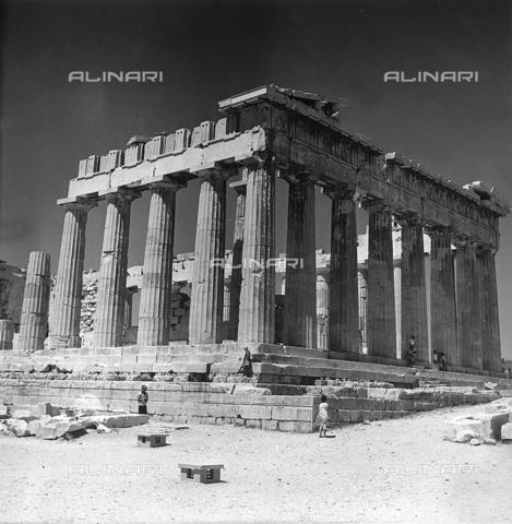 RAD-A-000012-0005 - Il Partenone, Acropoli, Atene - Data dello scatto: 1962 - Archivi Alinari, Firenze
