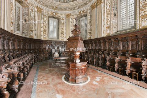 RAN-F-001026-0000 - Coro ligneo della Chiesa di San Vittore, Milano - Data dello scatto: 2011 - Archivio Mauro Ranzani / Archivi Alinari
