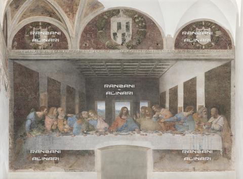 RAN-F-001821-0000 - Last Supper, Leonardo da Vinci, Cenacle of Santa Maria delle Grazie, Milan