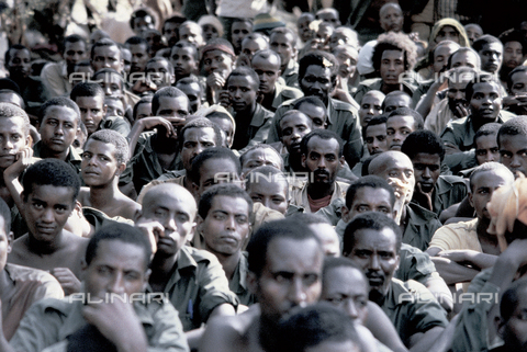 RCS-S-E14079-0004 - Recruits of ELF (Eritrea Liberation Front) during the war for liberation from Ethiopia - Data dello scatto: 1985 - RCS/Alinari Archives Management, Florence