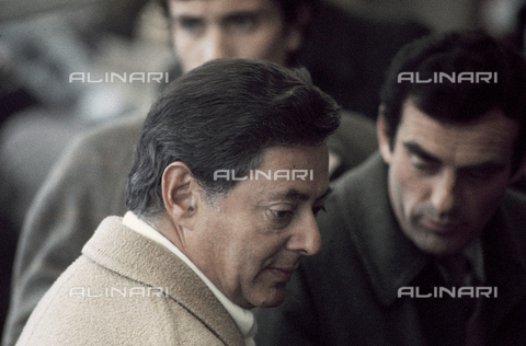 RCS-S-E14957-0007 - Umberto Agnelli in the stands of the Torino stadium during a football match - Data dello scatto: 1980 ca. - RCS/Alinari Archives Management, Florence