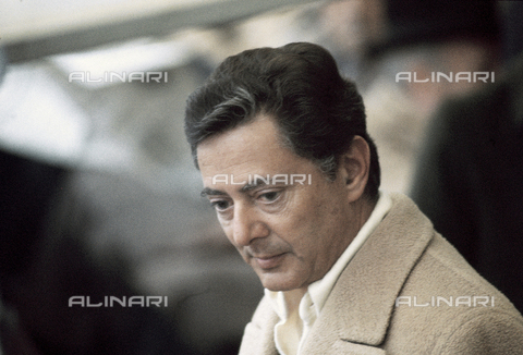 RCS-S-E14957-0008 - Umberto Agnelli in the stands of the Torino Stadium during a football match - Data dello scatto: 1980 ca. - RCS/Alinari Archives Management, Florence
