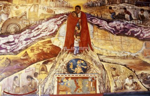 RCS-S-E19414-0009 - Murale moderno in Messico - Data dello scatto: 1986 - RCS / Gestione Archivi Alinari, Firenze