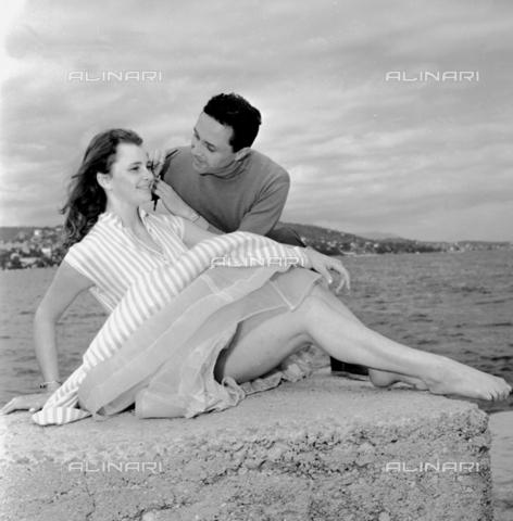 RCT-S-061888-0001 - Danielle Debray, ballerina dell'Opera di Parigi, a Cannes - Data dello scatto: 1956 - Archivio Toscani/Gestione Archivi Alinari, Firenze