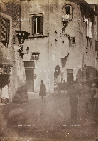 REA-F-000052-0000 - Scena di vita quotidiana a Trastevere, Roma - Data dello scatto: 1880-1890 - Archivi Alinari, Firenze
