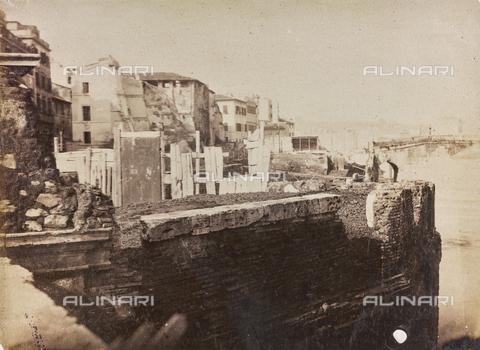 REA-F-000387-0000 - Lavori su Lungotevere a Roma - Data dello scatto: 1880-1890 ca. - Archivi Alinari, Firenze