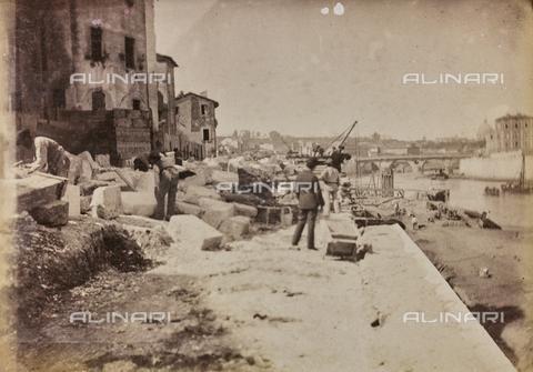 REA-F-000392-0000 - Lavori sulle sponde del Tevere a Roma - Data dello scatto: 1880-1890 ca. - Archivi Alinari, Firenze