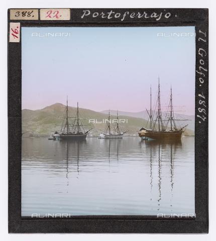 RGD-S-000022-0388 - Ships in the Gulf of Portoferraio, Elba Island - Data dello scatto: 1887 - Archivi Alinari, Firenze