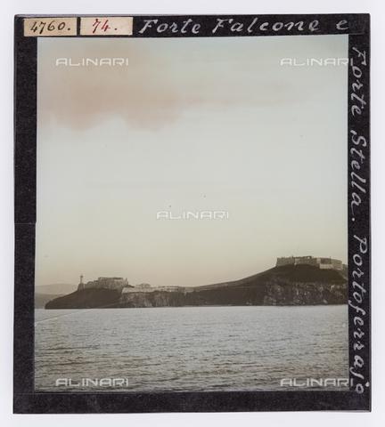 RGD-S-000074-4760 - Forte Falcone and Forte Stella in Portoferraio, Elba Island - Data dello scatto: 1890-1910 - Archivi Alinari, Firenze