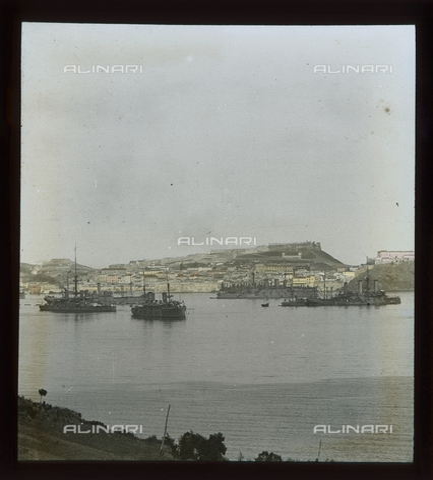 RGD-S-000085-5084 - Naval operations in Portoferraio, Elba Island - Data dello scatto: 1908 - Archivi Alinari, Firenze