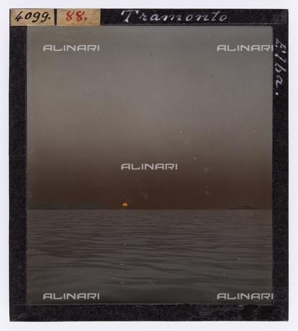 RGD-S-000088-4099 - Sunset, Elba Island - Data dello scatto: 1890-1910 - Archivi Alinari, Firenze