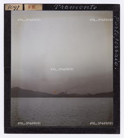 RGD-S-000088-5097 - Sunset in Portoferraio, Elba Island - Data dello scatto: 1890-1910 - Archivi Alinari, Firenze