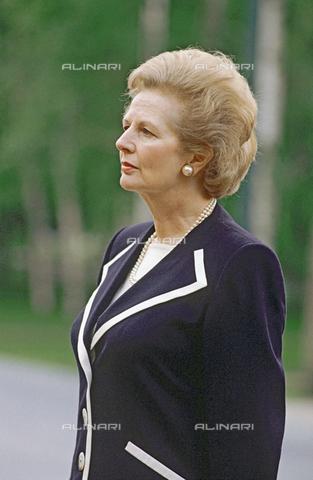 RNA-F-186240-0000 - English Prime Minister Margaret Thatcher (1925-2013) - Data dello scatto: 06/10/1990 - Sputnik/ Alinari Archives