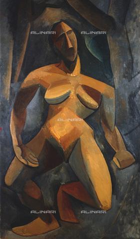 RNA-F-520349-0000 - Dryad, oil on canvas, Pablo Picasso (1881-1973), Hermitage Museum, St. Petersburg - Data dello scatto: 1979 - Sputnik/ Alinari Archives
