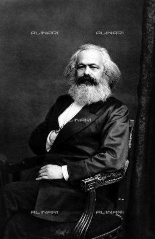 RNA-F-836257-0000 - The politician and economist Karl Marx (1818-1883) - Sputnik/ Alinari Archives