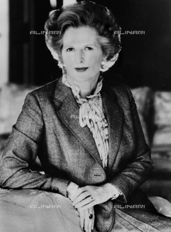 RNA-S-000286-5922 - English Prime Minister Margaret Thatcher (1925-2013) - Data dello scatto: 06/07/1975 - Sputnik/ Alinari Archives