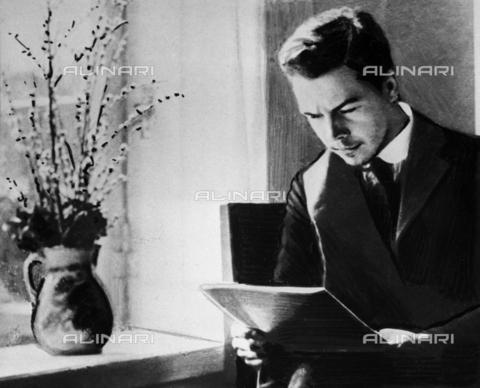 RNA-S-000305-4079 - Portrait of Nikolai Vavilov (1887 - 1943), geneticist, botanist and geographer - Data dello scatto: 21/03/1920 - Sputnik/ Alinari Archives