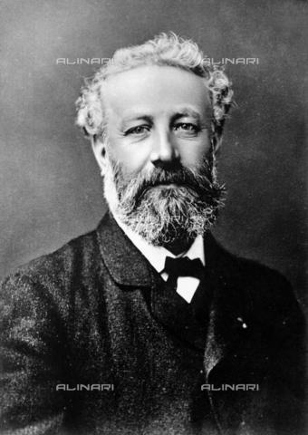 RVA-S-000148-0010 - Lo scrittore Juels Verne - Data dello scatto: 1870-1900 - Roger-Viollet/Alinari