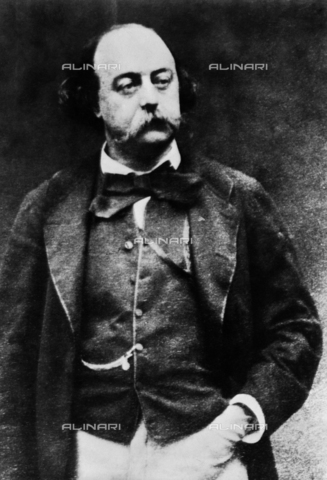 RVA-S-001203-0016 - The French writer Gustave Flaubert (1821-1880) - Data dello scatto: 1870 ca. - Roger-Viollet/Alinari