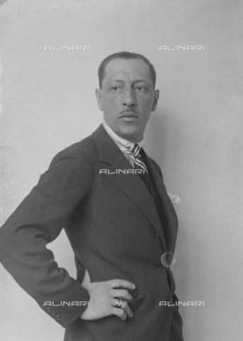 RVA-S-001344-0004 - The Russian and French national composer Igor Stravinsky (1882-1971) - Data dello scatto: 06/1924 - Boris Lipnitzki / Roger-Viollet/Alinari