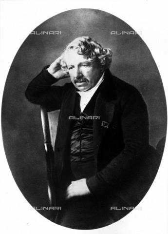 RVA-S-003238-0003 - Louis Jacques Mande Daguerre (1787-1851), inventore e fotografo francese - Data dello scatto: 1845 ca. - Roger-Viollet/Alinari