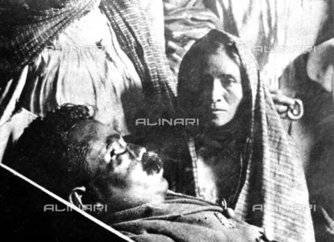 RVA-S-003260-0019 - Pancho Villa (1878-1923), rivoluzionario messicano, nella  bara, luglio 1923 - Data dello scatto: 07/1923 - Roger-Viollet/Alinari
