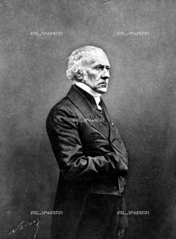 RVA-S-003635-0004 - Ritratto dello statista francese Franà§ois Guizot, 1860 ca. - Data dello scatto: 1860 ca. - Roger-Viollet/Alinari