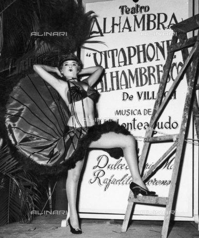 RVA-S-021711-0022 - Cuba. Teatro dell'Alhambra. 1958 - Data dello scatto: 1958 - Gilberto Ante/BFC  / Roger-Viollet/Alinari