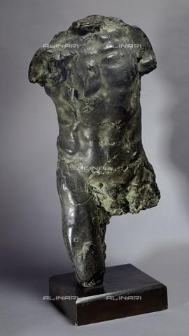 RVA-S-026357-0002 - Torso di un uomo, bronzo, Auguste Rodin (1840-1917), Petit Palais, Musée des Beaux-Arts de la Ville de Paris, Parigi - Philippe Ladet/Petit Palais / Roger-Viollet/Alinari