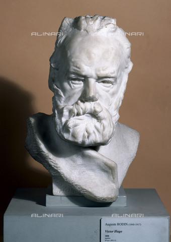 RVA-S-033808-0004 - Ritratto di Victor Hugo, marmo di Auguste Rodin (1840-1917); Parigi, Musée de la Ville de Paris, Musée du Petit-Palais - Petit Palais / Roger-Viollet/Alinari