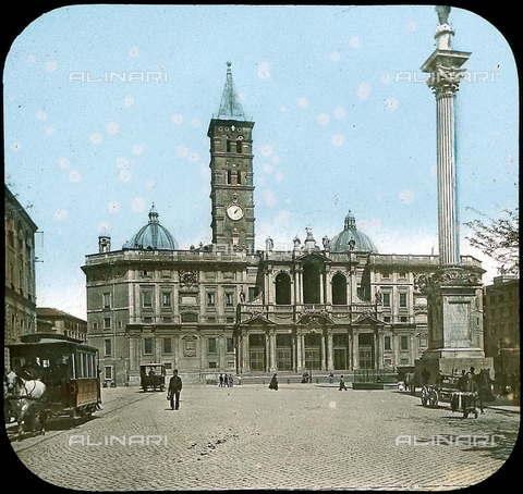 RVA-S-081576-0022 - La Basilica di Santa Maria Maggiore a Roma - Data dello scatto: 1895 ca. - Léon et Lévy / Roger-Viollet/Alinari