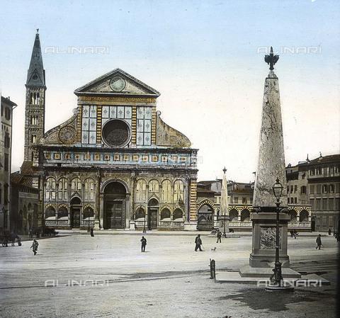 RVA-S-081578-0014 - La Basilica di Santa Maria Novella a Firenze - Data dello scatto: 1895 ca. - Léon et Lévy / Roger-Viollet/Alinari