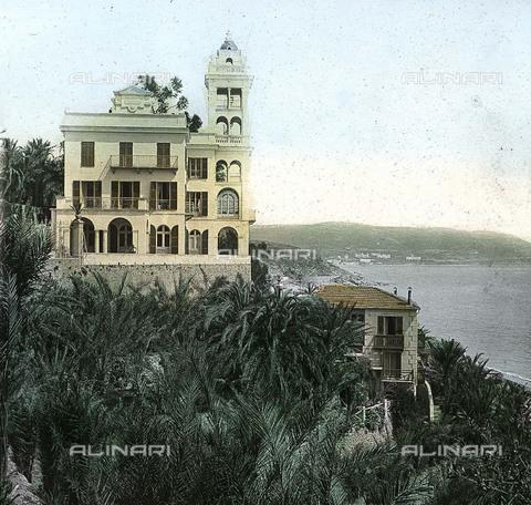 RVA-S-081579-0008 - Villa Garnier a Bordighera - Data dello scatto: 1895 ca. - Léon et Lévy / Roger-Viollet/Alinari