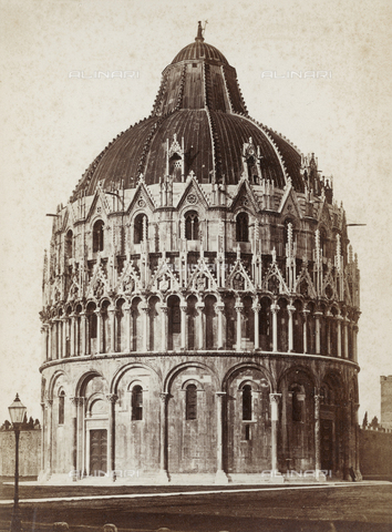 SCC-A-000002-0005 - The Baptistery of Pisa - Data dello scatto: 1855 ca. - Archivi Alinari, Firenze