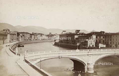 SCC-A-000002-0010 - The Ponte Nuovo (The New Bridge) in Pisa - Data dello scatto: 1855 ca. - Archivi Alinari, Firenze