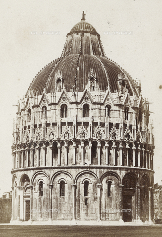 SCC-A-000003-0005 - The Baptistery of Pisa - Data dello scatto: 1855 ca. - Archivi Alinari, Firenze